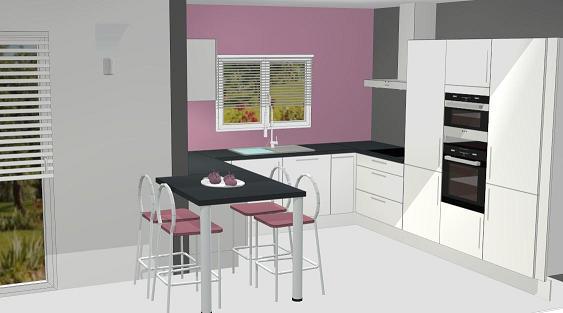 Les projets implantation de vos cuisines 8700 messages - Implantation cuisine ouverte ...